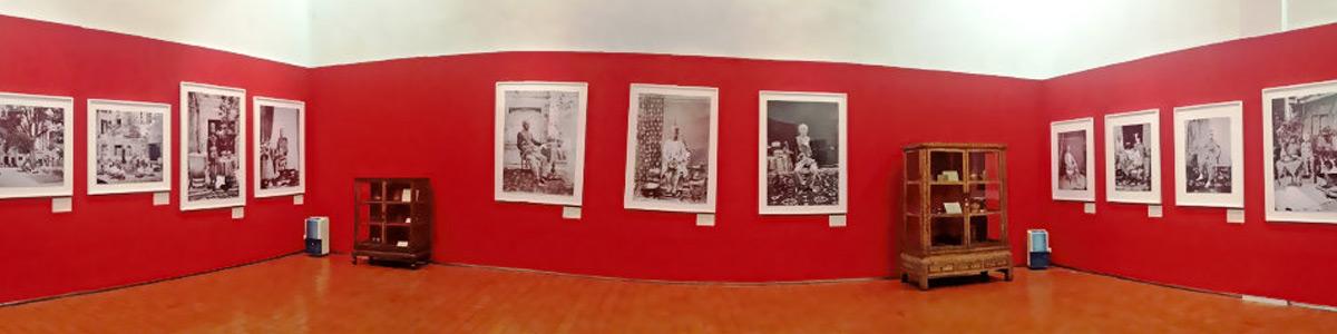 John Thomson exhibition - Siam installation